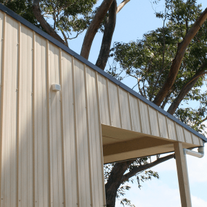 Metroclad® Wide Coverage Walling on side of house