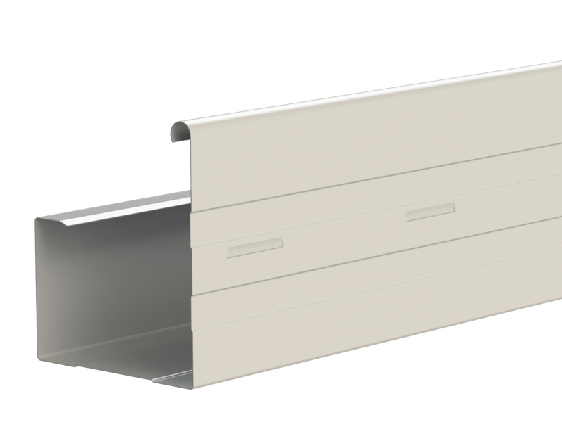 A Metroll product - Squareline Gutter