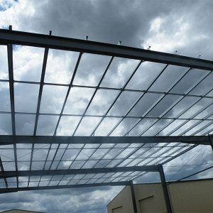Purlins & Girts being used on new building construction